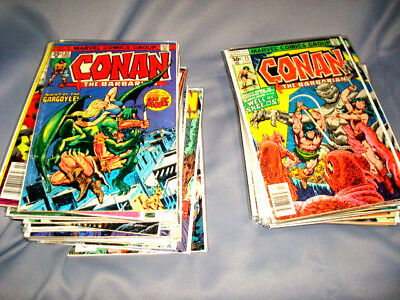 MARVEL Conan the Barbarian 29 Book Lot * John Buscema!