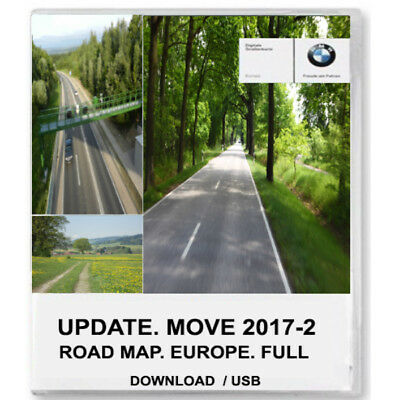 BMW road map europe Move 2017-2