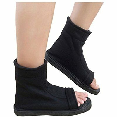 DAZCOS Black Accessories Shippuden Ninja Shoes US 11 Adult Child