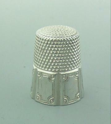 Vintage American Sterling Silver Thimble