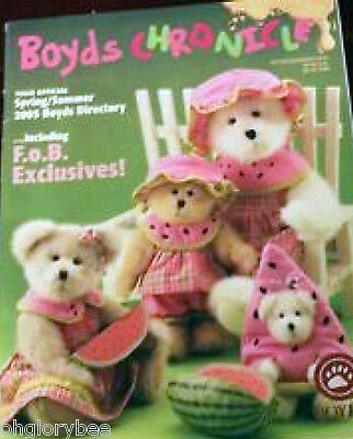Boyds  Chronicle *Spring/Summer 2005 Catalog* Includes FoB Exclusives! ~86 Pages