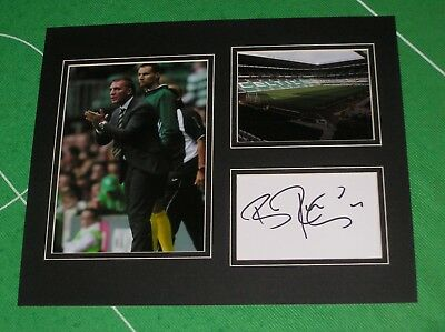 Brendan Rodgers Signed Glasgow Celtic FC Mount