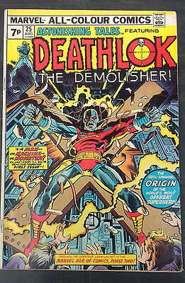 Astonishing Tales #25  FN Bronze age Key Marvel comic.Deathlok first appearance