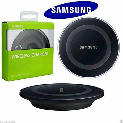Wireless Qi Fast Charging Station PAD For Samsung Galaxy S8 S6 S7+ Plus