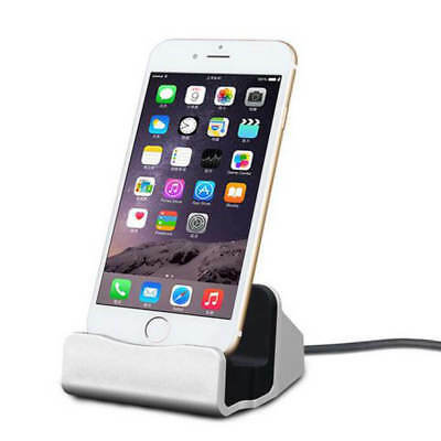 Lightning Dock Sync + Charging Station in rose gold for iPhone 6/6S, 6+/6S+, SE