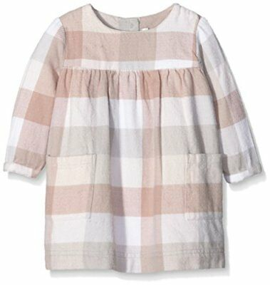 Mamas & Papas Mamas and Papas Smock Dress Large Check Pink, Vestito (D2w)