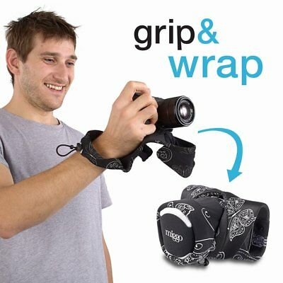 "Miggo Grip and Wrap ""Royal Wings"" Strap for Compact System Cameras"