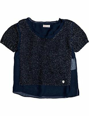 Replay - Pulli, Maglione per bambine e ragazze, blu (blau  (night blue (R7V)