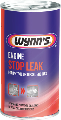 Engine oil STOP LEAK Wynn's stop engine oil leaks for Petrol LPG & diesel engine
