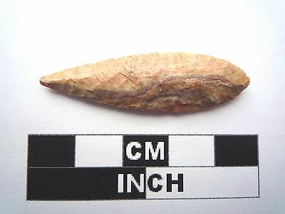 Neolithic Arrowhead 44mm, High Quality Saharan Flint Artifact - 4000BC  (1022)