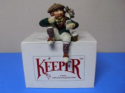 Shenandoah The Keeper Of Golf Figurine With Box