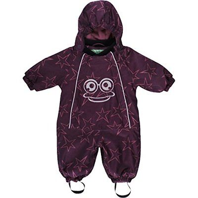 Fred's World by Green Cotton Star Suit Baby, Body Bimbo, Rot (Wine (d8j)
