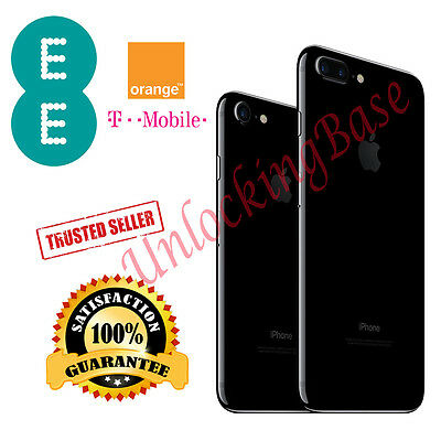 Unlock Orange /ee/ T-Mobile Uk Service For Iphone 7 And 7 Plus In  24-120 Hours