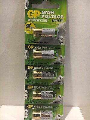 5 Pack GoldPeak A23 12 Volt Batteries MN21 MN23 23AE 21/23 GP23 23A 23GA