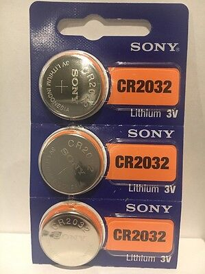 6 SONYCR2032 DL2032 ECR2032 3V Lithium Coin Watch Battery Expire 2028 USA SELLER