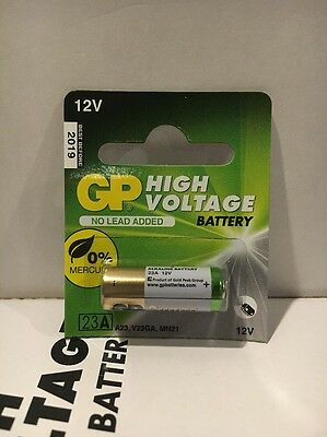 1 Piece GoldPeak A23 12 Volt Battery MN21 MN23 23AE 21/23 GP23 23A 23GA EXP.2021