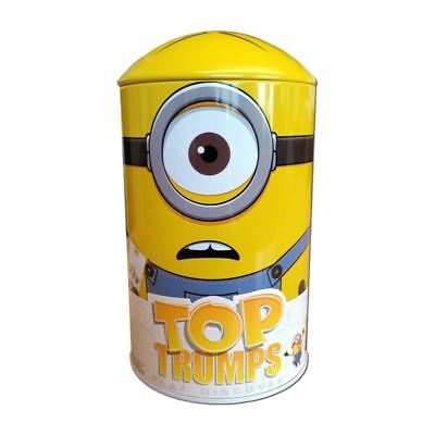 Minions Top Trumps Collectors Tin Card Game