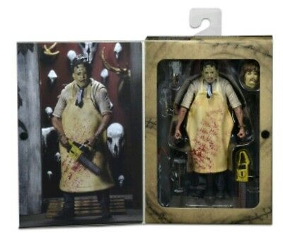 """Neca The texas chainsaw massacre ultimate Leatherface 40th 7"""" action figure"""