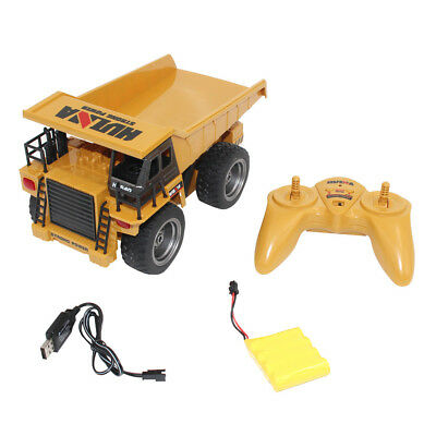 2.4G 6 CH Functional Dump Truck toy Car Vehicle Electric RC Remote Control Model