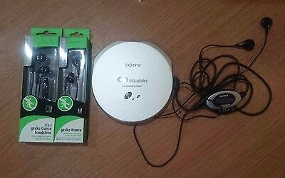 SONY Walkman Portable CD Player Discman D-EJ915 Boxed + Accessories