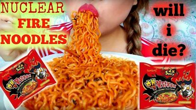 Samyang Nuclear Fired Noodles Hot Very Spicy Chicken Ramen 2x spicy 1 pack