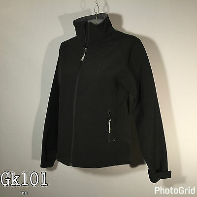 Mountain Warehouse Womens Ladies Black Soft Shell Size 10