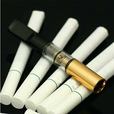 1pcs Reusable Tar Smoke Tobacco Filter Cigarette Holder Cleaning Healthy Tool UU