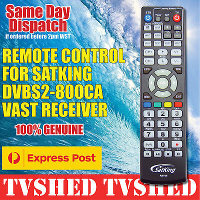 Satking RM-06 Remote Control for DVBS2-800CA VAST Satellite Free Express Postage