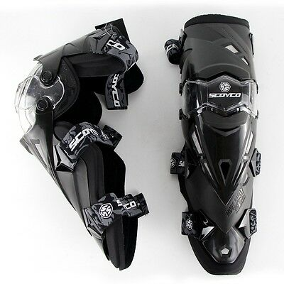 NEW Motorcycle Racing Knee pads Protective Gear Guard Elbow Protector SCOYCO VF