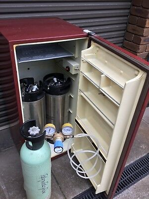 Home Brew Beer Keg System CO2 Gas Bottle Refrigerator