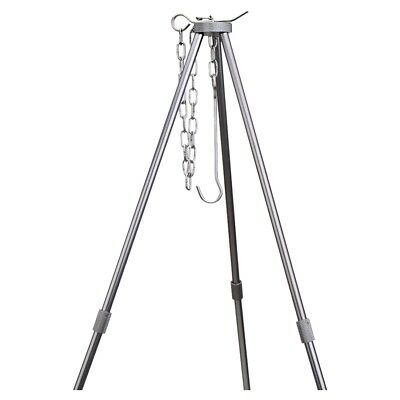 Outdoor Cooking Tripod for Camping Picnic with Storage Bag D1M0