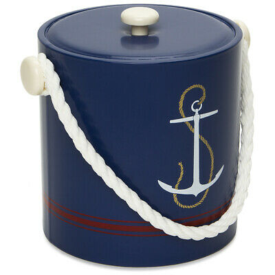 NEW Mr Ice Bucket Navy Anchor Ice Bucket