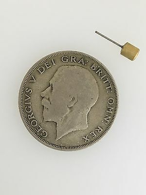 WWII German British Hollow 'Half Crown' Secret Agent Spy Coin