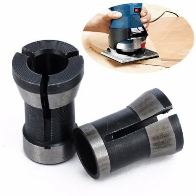 2pcs/set 6.35mm + 8mm Collet Chuck Engraving Trimming Machine Electric Router