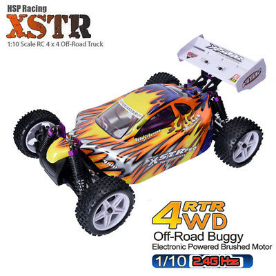 HSP 1/10 Scale Electric RC Car RTR PRO Brushed 4WD 2.4GHz Off-Road Drift Buggy