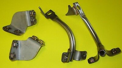Suzuki GS1000S Wes Cooley Fairing Bracket Set. Stainless construction. UK made.
