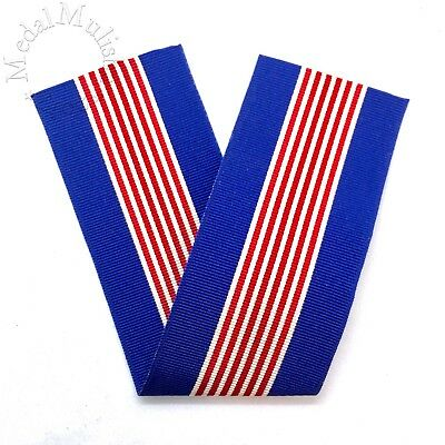 Wwii Us Soldiers Medal For Valor Ribbon Drape 6 Inch Length Period Old Stock