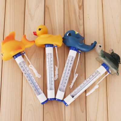 Animal Water Swimming Pool Swim Spa Hot Tub Floating Temperature Thermometer
