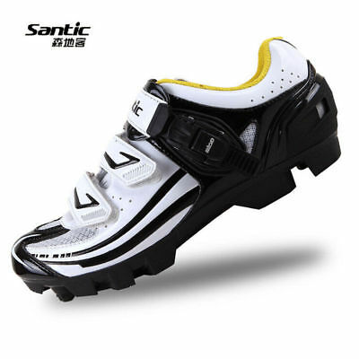 Santic MTB Cycling Men's Shoes Professional Breathable Shoes Look SPD-SL System