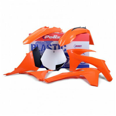 NEW Polisport Mx KTM 125-530 EXC EXCF 2012 2013 Orange OEM Plastics Kit