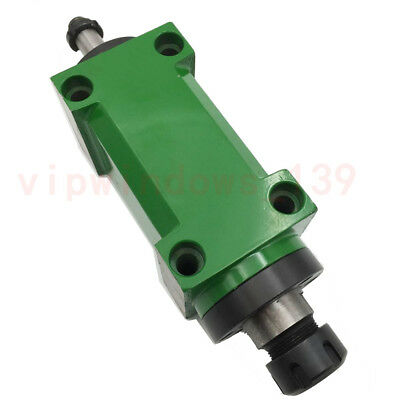 ER25 Chuck Spindle Unit 60mm Flange 1.5KW 2HP Drilling Power Head 3000RPM CNC
