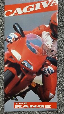 Cagiva Range Motorcycle Sales Brochure