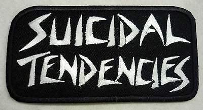 SUICIDAL TENDENCIES embroidered patch II Cyco Miko D.R.I. Infectious Grooves