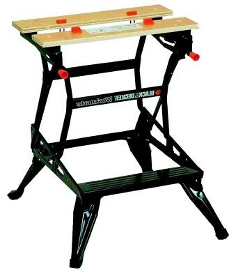 Black Decker WM536 Dual Height Workmate Durable Steel Construction FAST DELIVERY