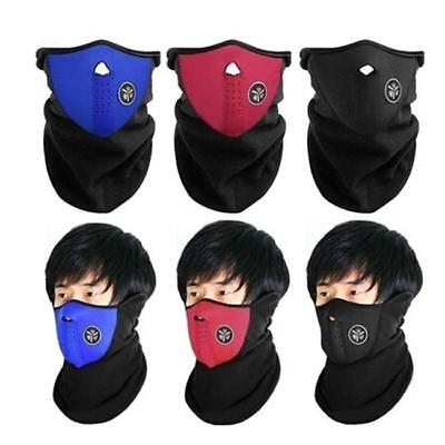 Half Face Mouth Mask Motorcycle MotorBike Bike Cycling Ski Neck Warmer Cover N7
