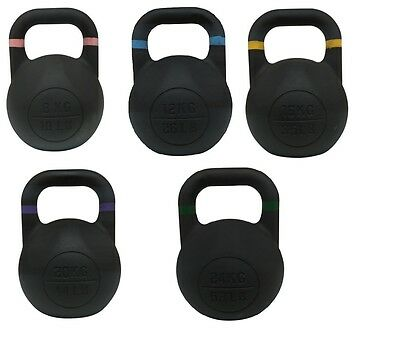 New 8kg - 24kg Kettle bell Competition / Pro Grade Kettlebell Gym Train