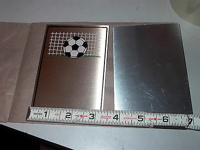 """Lot Of Two Thin Aluminum Flat  Plate 3-1/4"""" X 4-3/4"""""""