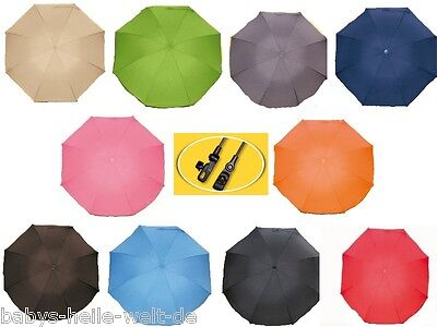 Heitmann Parasol for Pushchair UV Protection Colour to choose + NEW