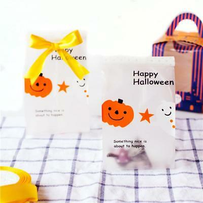 50pcs/Lot Cellophane Alimentaire pour Emballage Bonbon Chocolat Halloween