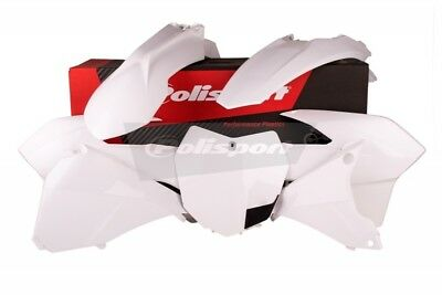 Polisport NEW Mx KTM EXC EXC-F 2014-2016 Motocross White Enduro Plastics Kit